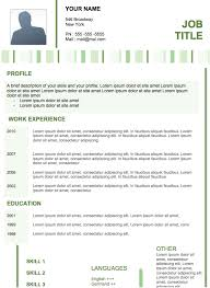 Modern Simple Resume Template Examples Of Resume 26254582997 Modern Professional Resume