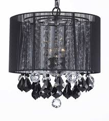 black chandelier with crystals fresh g7 black 604 3 gallery chandeliers with shades crystal chandelier
