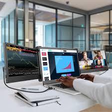 OFIYAA P2 Laptop Screen Monitor Portable IPS Monitor 11'' 1920x1080 USB C  HDMI Gaming Display for PC Phone Xbox Nintendo Switch|LCD Monitors