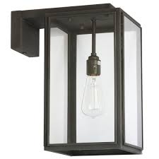 British Box Wall Light Portico Small With Wall Arm Portico Small By