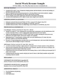 Certified Case Manager Resume Social Work Resume Sample Writing Tips Resume Companion