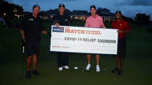 """The Match"""" - Tiger Woods revanchiert ..."""