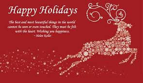 Holiday Wishes Quotes Simple Holiday Quotes Awesome Holiday Sayings By Helen Keller