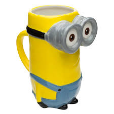 minions sculpted coffee mug kevin