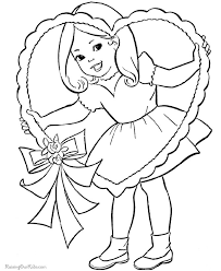 Small Picture Free Printable Valentines Day Coloring Pages for Kids
