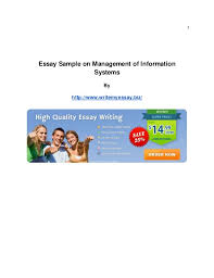 essay sample on management of information systems jpg cb  1 essay sample on management of information systems by writemyessay