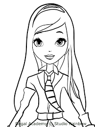 Disegno Di Rose Di Regal Academy Da Colorare