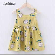 Designer Newborn Baby Boy Clothes Sale Newborn Baby Girl Dress Kids Clothing Summer Girls Casual Dresses Floral Print Infant Party Dress Designer 0 24m Kids Clothes