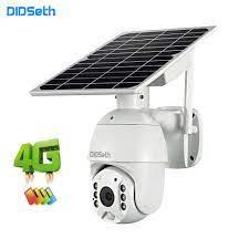DIDSeth 4G Solar panel Power IP Speed Dome Kamera P2P Mobile Kontrolle  Solar Ladung 4G Wifi IP PTZ kameras Cloud Lagerung 4G Kamera|Surveillance  Cameras
