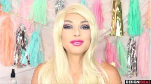 below we have a barbie doll make up tutorial for you that will certainly at the very least provide you a barbie face and also with some technique
