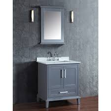 ariel by seacliff nantucket 30 grey single sink bathroom vanity set