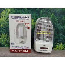 HCM] Siêu giảm giá Đèn sạc chiếu sáng khẩn cấp Kentom KT 2300PL (Trắng) - Đèn  pin Nhãn hàng KENTOM