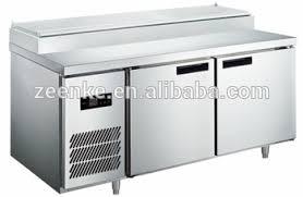 refrigerator table. refrigerator pizza prep table/pizza restaurant countertop refrigerator/refrigeration working table a