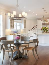 round table stevens creek home decor on brilliant a zinc topped round table is surrounded by