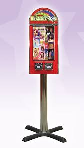All Star Vending Machine Simple All Star 48 Column Sticker Vending Machine With Stand Eye Catching