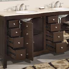 Bathroom double sink cabinets 88 Inch 72 Perfecta Pa5126 Bathroom Vanity Bath Kitchen And Beyond 72 Perfecta Pa5126 Bathroom Vanity Double Sink Cabinet dark