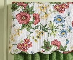 Pembroke Floral Quilted Valance by Williamsburg (1 LEFT) & Tap to expand Adamdwight.com