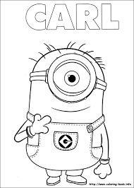Small Picture 1218 best Coloring pages Minion images on Pinterest Coloring