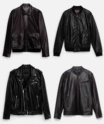 men s zara leather jackets