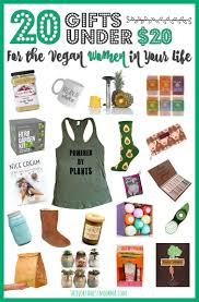 20 gifts under 20 for the vegan women in your life