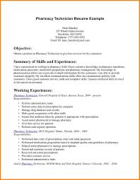 Pharmacy Technician Resume 100 Entry Level Pharmacy Technician Resume Resume Cover Note 28