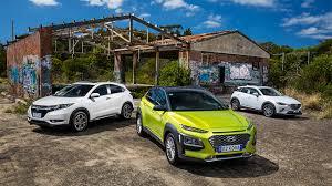 Small Suv Comparison Mazda Cx 3 Vs Honda Hr V Vs Hyundai
