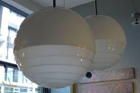 art deco bauhaus ball ceiling lamps in