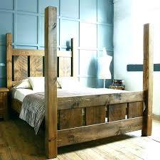 Four Post Bed Frame 4 Post Bed Wooden Four Poster Bed Frames ...