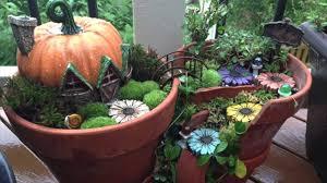 fairy garden pots. Broken Pots Turned Into Brilliant Fairy Gardens Garden G