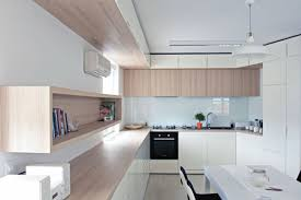 Apartment Kitchen Apartment Kitchen Interior Design Modern Glossy Small Apartment