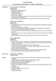 Hvac Apprentice Resume Samples Velvet Jobs Intended For Resume