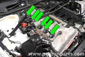bmw e90 spark plug and coil replacement e91 e92 e93 pelican bmw e90 models utilize an individual ignition coil for each spark plug referred to as