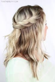 Hairstyle Braid twisted crown braid tutorial twist me pretty 6106 by stevesalt.us