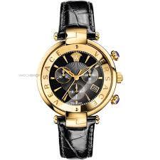 "versace watches watch shop comâ""¢ ladies versace reve 41mm chronograph watch vaj040016"