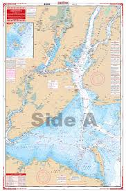 New York Harbor Manhattan Navigation Chart 62
