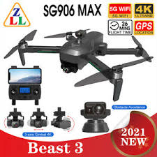 <b>SG906 MAX</b> PRO 2 <b>Beast 3</b> GPS Drone Obstacle Avoidance 5G ...