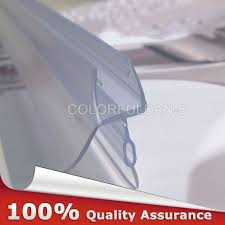 for curved shower bath screens soak the seal in warm not boiling water to allow it to soften for 10 minutes then you can shape the seal to fit your screen