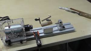 review dc 24v mini lathe beads machine woodwork diy lathe