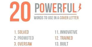 Resume Power Words List Powerful Words To Use In A Resume Airexpresscarrier Com