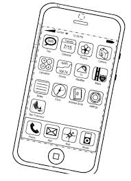 Iphone Coloring Pages S Coloring Coloring Pages Coloring Pages