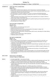 Security Supervisor Resume Samples Velvet Jobs