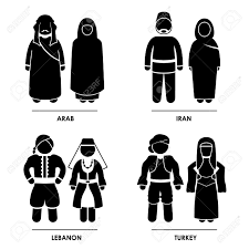 turkey country people men. Contemporary People Stockfoto  West Asia Arab Iran Lebanon Turkey Man Woman People National  Traditional Costume Dress Clothing Icon Symbol Sign Pictogram Inside Country Men T