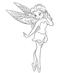 Tinkerbell Kleurplaat Disney Kleurplaat Animaatjesnl