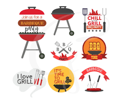 I make a small commission. 11 Grill Master Designs Graphics