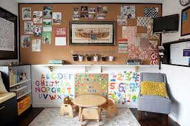 office playroom. Fine Playroom View In Gallery Cleverly Combined Craft Room And Playroom Design Joy  Street Design Inside Office Playroom H