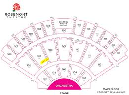 Rosemont Theatre Seating Chart With Seat Numbers Nier Hashtag On Twitter