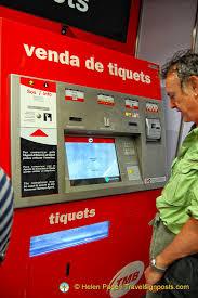 Metro Ticket Vending Machines Extraordinary The Bright Red Metro Ticket Vending Machine
