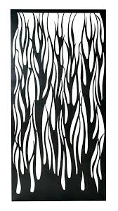 metal screen panels decorative nz laser cut uk