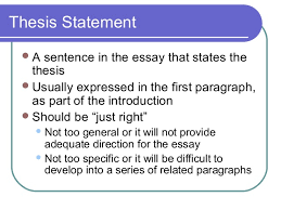 elements of an effective essay  essay