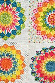 Dahlia Quilt: my ROYGBIV quilt – april rosenthal & Dahlia-4 Adamdwight.com